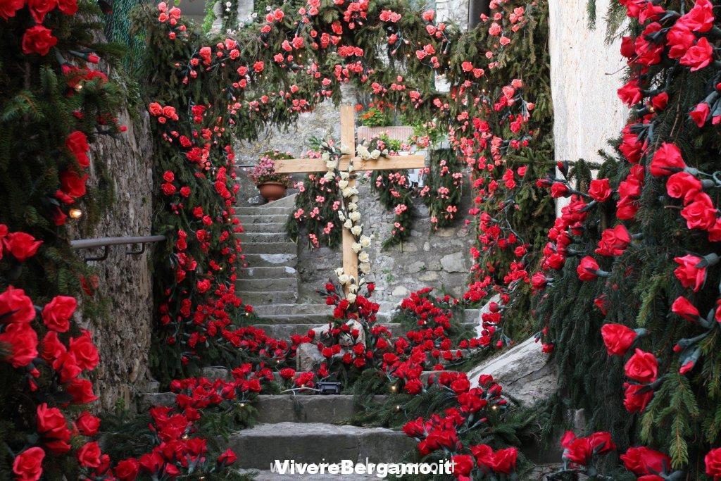 Festa dei fiori Monte isola Carzano