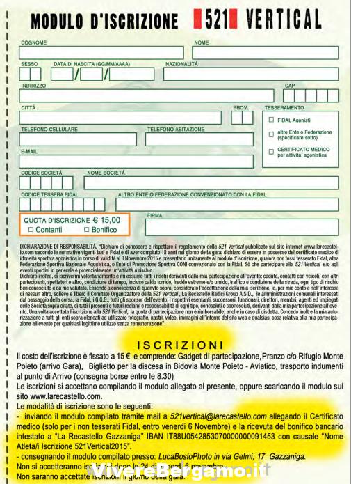 Modulo Gazzaniga – Monte Poieto
