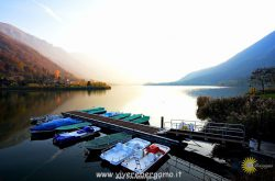 autunno sul lago bergamasco