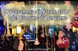 Programma Natale Bergamo 2015