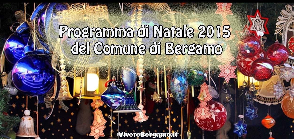 Natale Bergamo 2015