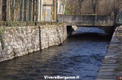 Fiume Cherio Val Cavallina Bergamo