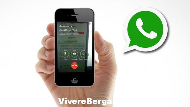 Video chiamate con whatsapp