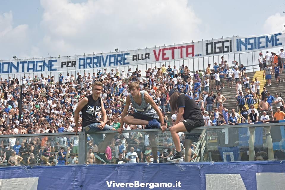 Inizio stagione atalanta Bergamasca 2016