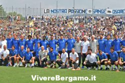 Squadra atalanta ritiro rovetta 2016
