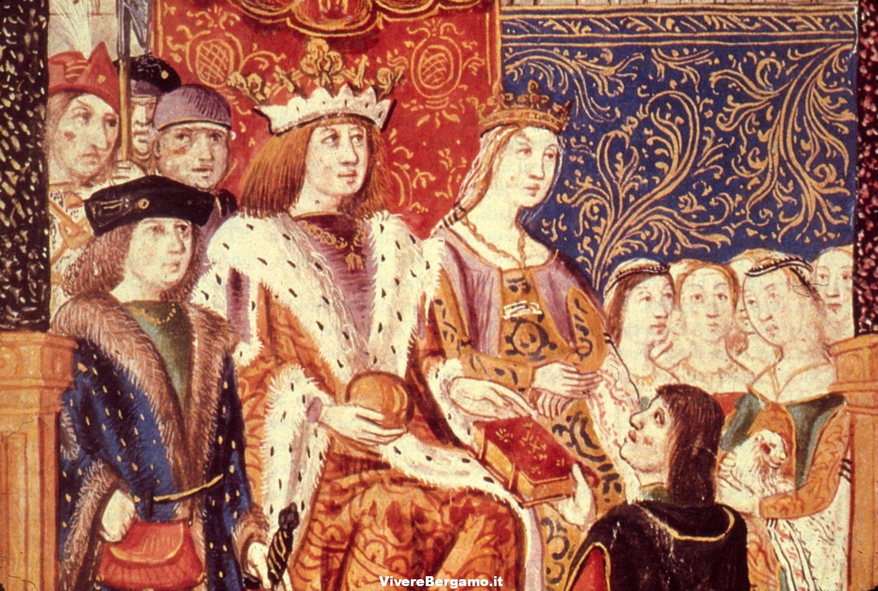 Isabella di Castiglia e Ferdinando D'Aragona