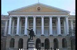 Statua di Giacomo Quarenghi a San Pietroburgo