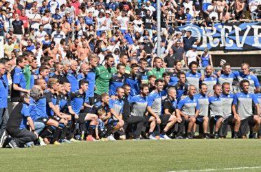 Atalanta 2017 presentazione ufficiale della squadra