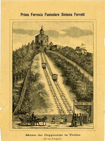 PROGETTI_funicolare Monte dei Cappuccini a Torino (1890 ca.)