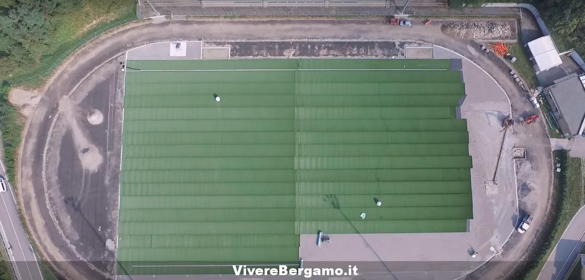 """""""ASD Zognese"""" Nuovo Campo sintetico in località Camanghè a Zogno"""
