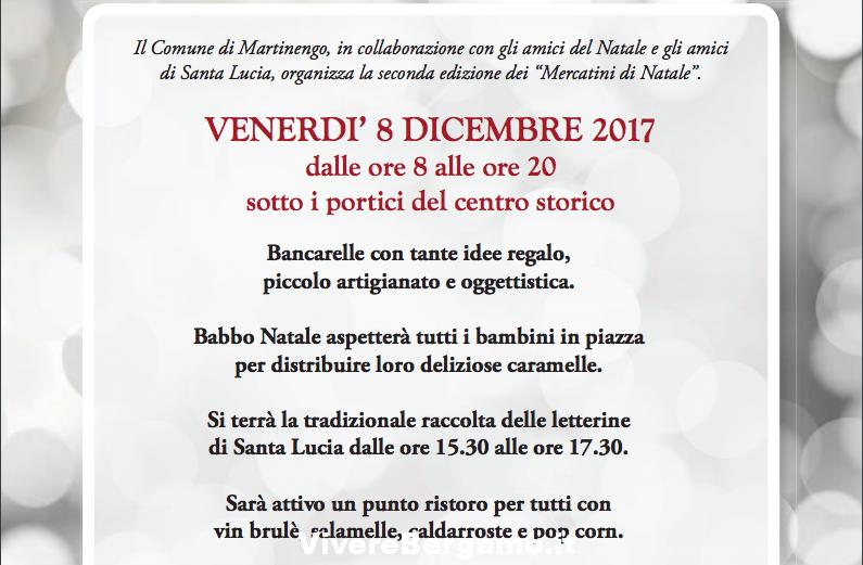 Mercatino di Natale 2017 a Martinengo